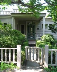 Entrance to Farrand Wing at Garland Farm. Judith B Tankard